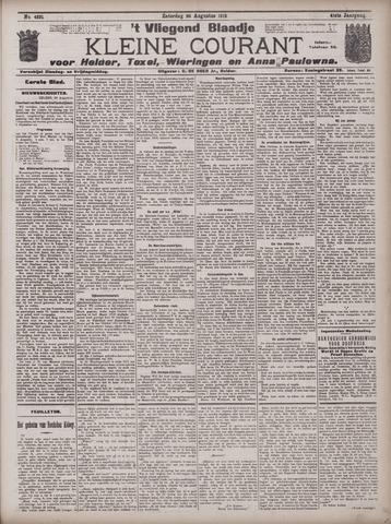 Vliegend blaadje : nieuws- en advertentiebode voor Den Helder 1913-08-30