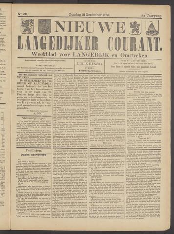 Nieuwe Langedijker Courant 1899-12-31