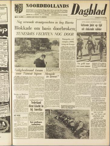 Noordhollands Dagblad : dagblad voor Alkmaar en omgeving 1961-07-22