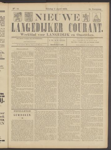 Nieuwe Langedijker Courant 1893-04-02