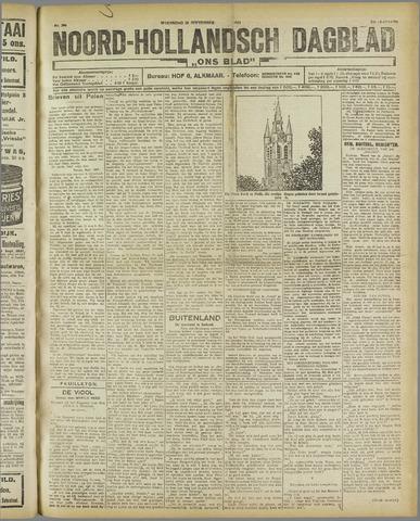 Ons Blad : katholiek nieuwsblad voor N-H 1921-09-28