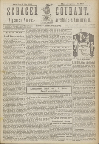 Schager Courant 1920-05-15