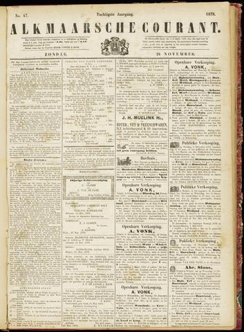 Alkmaarsche Courant 1878-11-24