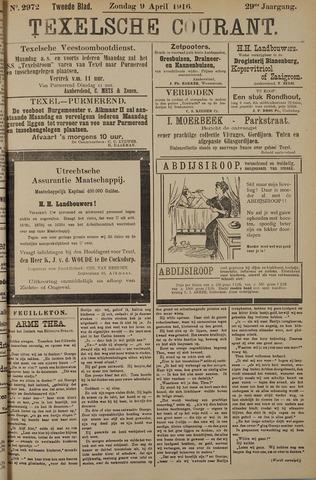Texelsche Courant 1916-04-09