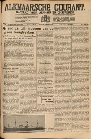 Alkmaarsche Courant 1939-11-28