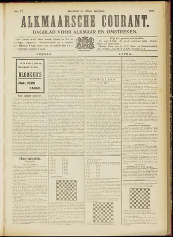 Alkmaarsche Courant 1909-04-02