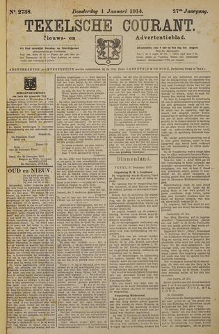 Texelsche Courant 1914