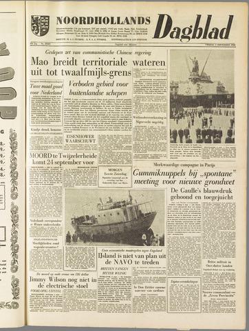 Noordhollands Dagblad : dagblad voor Alkmaar en omgeving 1958-09-05