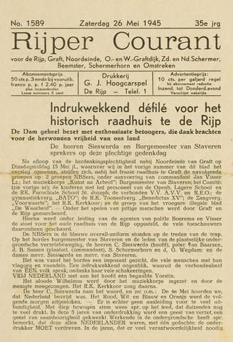 Rijper Courant 1945-05-26