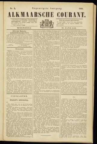 Alkmaarsche Courant 1888-01-18