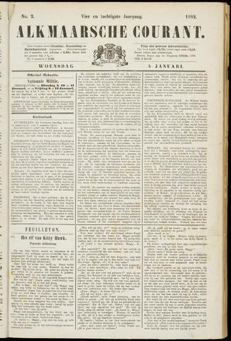 Alkmaarsche Courant 1882-01-04