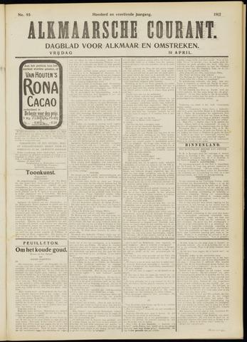 Alkmaarsche Courant 1912-04-19