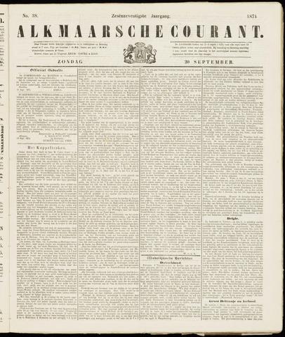 Alkmaarsche Courant 1874-09-20