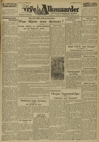 De Vrije Alkmaarder 1946-11-09