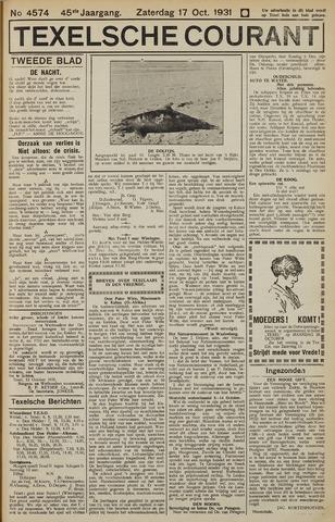 Texelsche Courant 1931-10-17