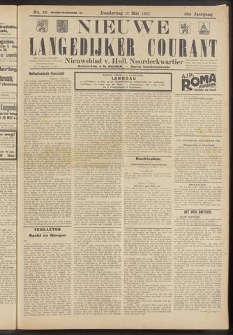Nieuwe Langedijker Courant 1927-05-12