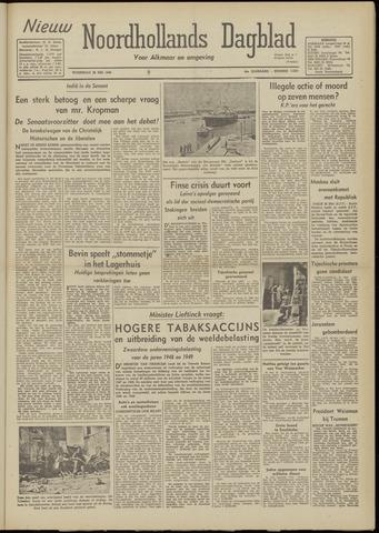 Nieuw Noordhollandsch Dagblad : voor Alkmaar en omgeving 1948-05-26