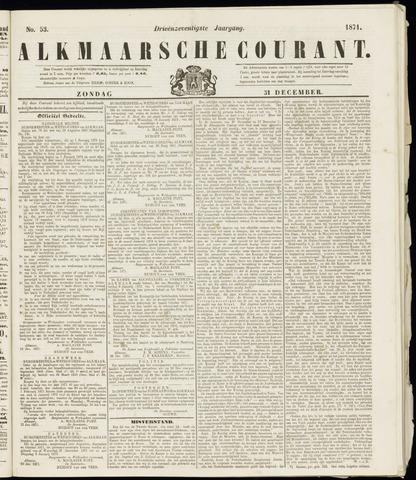 Alkmaarsche Courant 1871-12-31