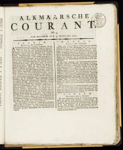 Alkmaarsche Courant 1815-02-27