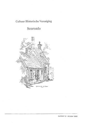 Scoronlo: uitgave van de cultuurhistorische vereniging Scoronlo 1995-10-01