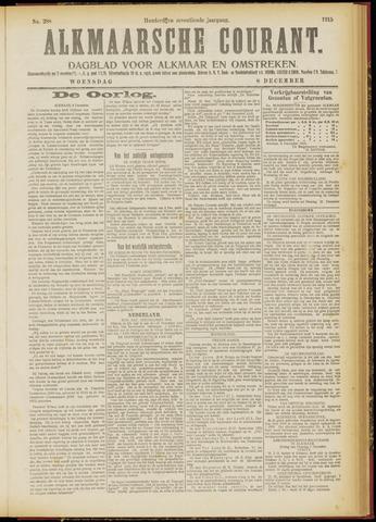 Alkmaarsche Courant 1915-12-08