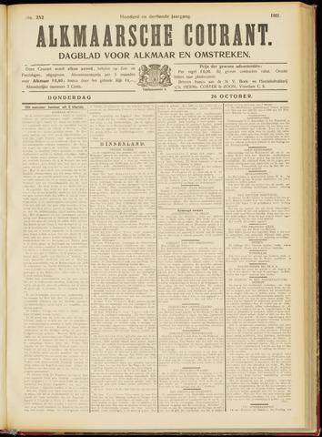 Alkmaarsche Courant 1911-10-26