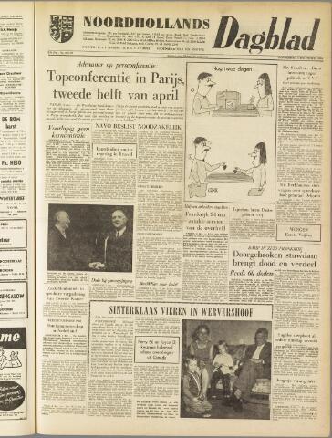 Noordhollands Dagblad : dagblad voor Alkmaar en omgeving 1959-12-03