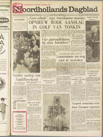 Noordhollands Dagblad : dagblad voor Alkmaar en omgeving 1964-09-19