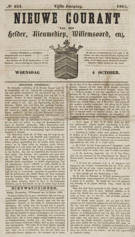 Nieuwe Courant van Den Helder 1865-10-04
