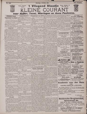 Vliegend blaadje : nieuws- en advertentiebode voor Den Helder 1904-10-12