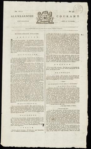 Alkmaarsche Courant 1817-10-27