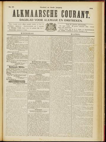 Alkmaarsche Courant 1908-04-29