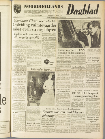 Noordhollands Dagblad : dagblad voor Alkmaar en omgeving 1962-02-24