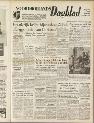 Noordhollands Dagblad : dagblad voor Alkmaar en omgeving 1954-08-30