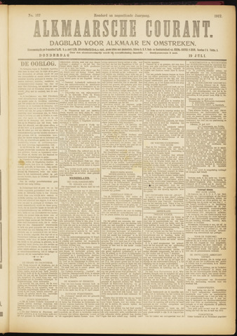 Alkmaarsche Courant 1917-07-19