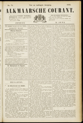 Alkmaarsche Courant 1882-06-25