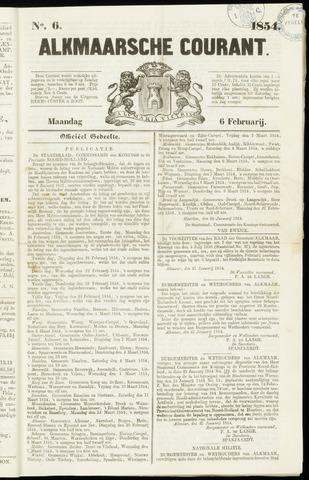 Alkmaarsche Courant 1854-02-06