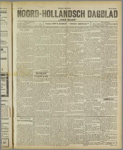 Ons Blad : katholiek nieuwsblad voor N-H 1922-04-11