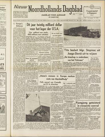 Nieuw Noordhollandsch Dagblad : voor Alkmaar en omgeving 1951-07-31