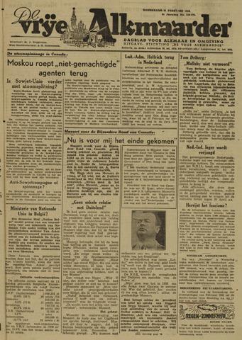 De Vrije Alkmaarder 1946-02-21