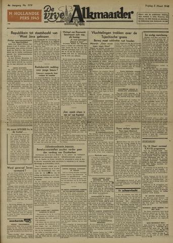 De Vrije Alkmaarder 1948-03-05