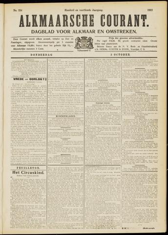 Alkmaarsche Courant 1912-10-03