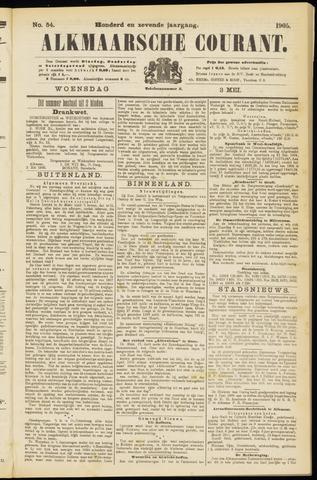 Alkmaarsche Courant 1905-05-03