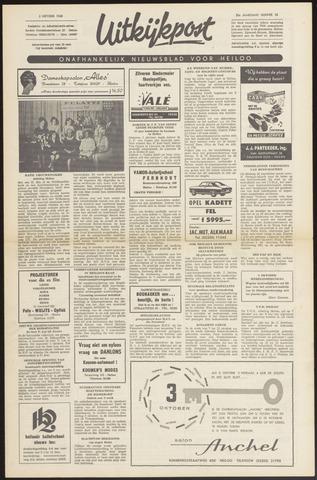 Uitkijkpost : nieuwsblad voor Heiloo e.o. 1968-09-26