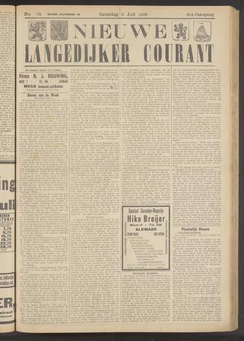 Nieuwe Langedijker Courant 1926-07-03