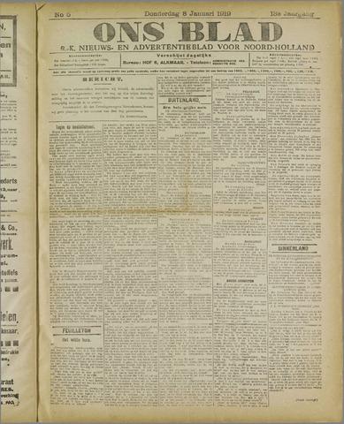 Ons Blad : katholiek nieuwsblad voor N-H 1920-01-08