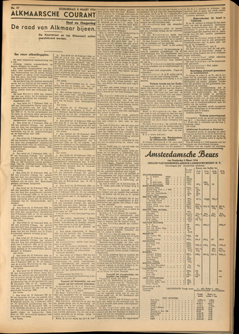Alkmaarsche Courant 1934-03-09