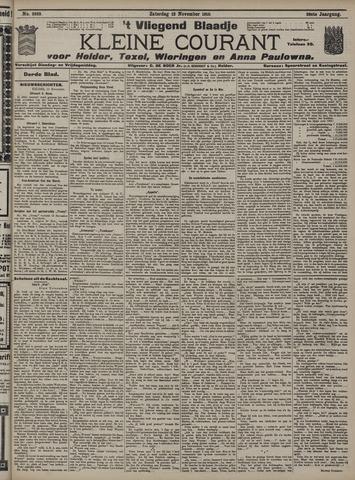 Vliegend blaadje : nieuws- en advertentiebode voor Den Helder 1910-11-12