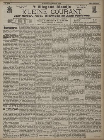Vliegend blaadje : nieuws- en advertentiebode voor Den Helder 1906-12-12