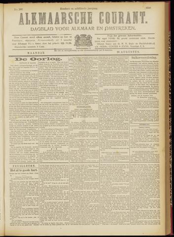 Alkmaarsche Courant 1916-08-28